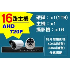 16路主機AHD720P